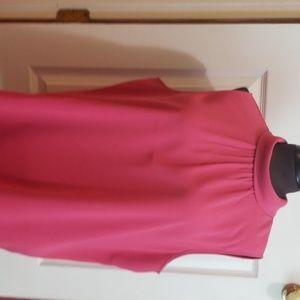 Pink sleeveless shell